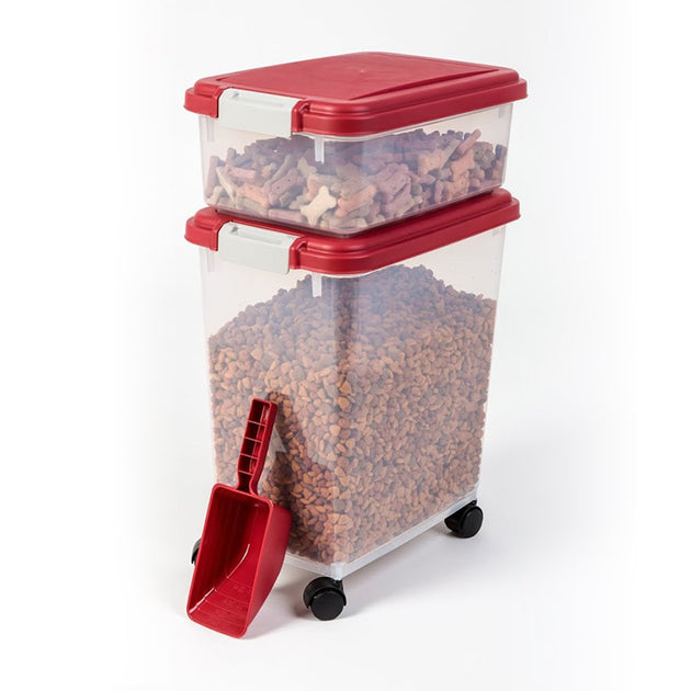 Pet Food Bins and Scoop
