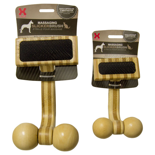 Massaging Pet Slicker Brush
