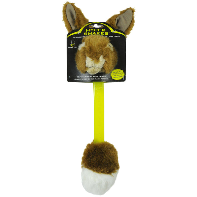 Hyper Shakes Rabbit Dog Toy