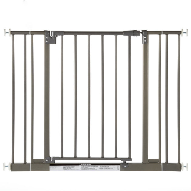 Easy-Close Wall Mounted Steel Pet Gate