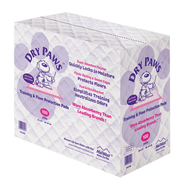 Dry Paws Dog Training Pads 100 pack