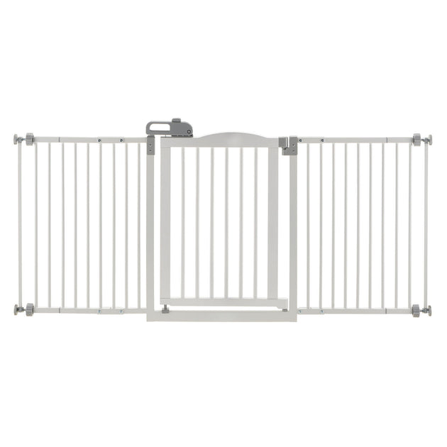 One-Touch Wide Pressure Mounted Pet Gate II