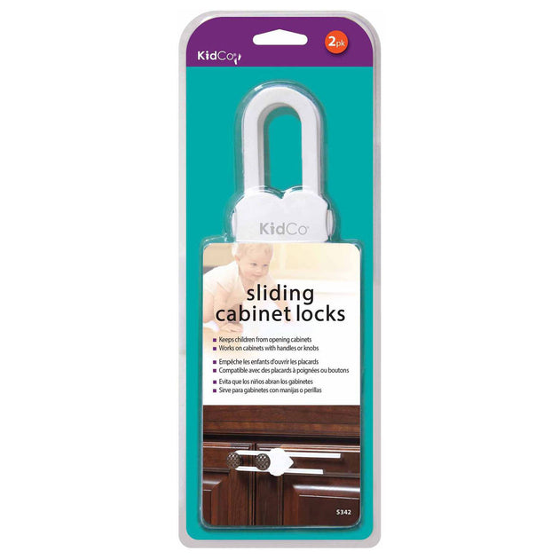 Sliding Cabinet and Drawer Lock 2 pack