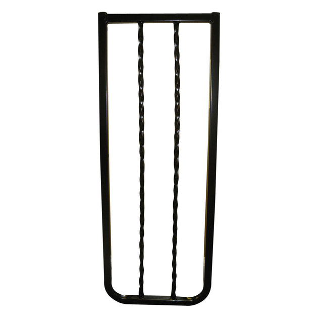 Wrought Iron Decor Hardware Mounted Pet Gate Extension