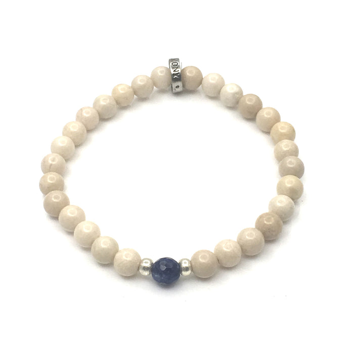 Share a bit of Honor - Sodalite & Riverstone Bracelet