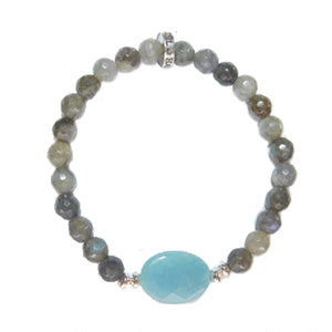 Blue Quartz Bracelet - #betrue