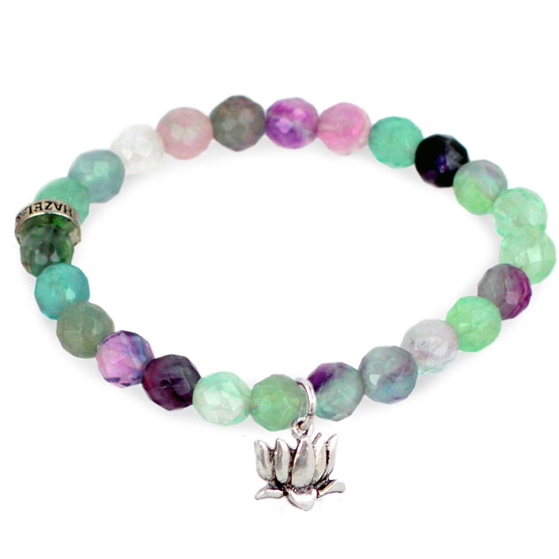 Lotus Charm Bracelet - #becharmed