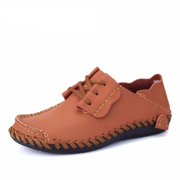 Men's Leather Stitched Shoes