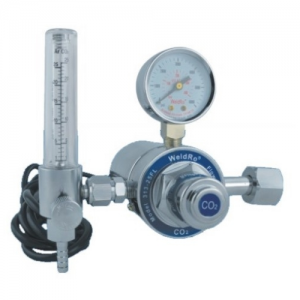 WeldRo CO2 Heater Regulator with Flowmeter (110V)