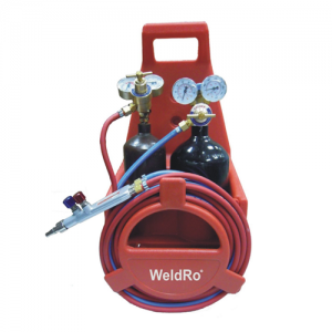 WeldRo Portable Gas Welding Set (Mini Cylinder)