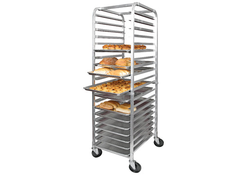 "Winco 20-Tier Sheet Pan Rack, 3"" Spacing, Aluminum, NSF Listed ALRK-20WINCO"