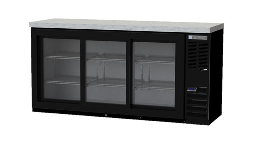 Beverage Air BB72HC-1-GS-B-27 Double Door Back Bar Cooler