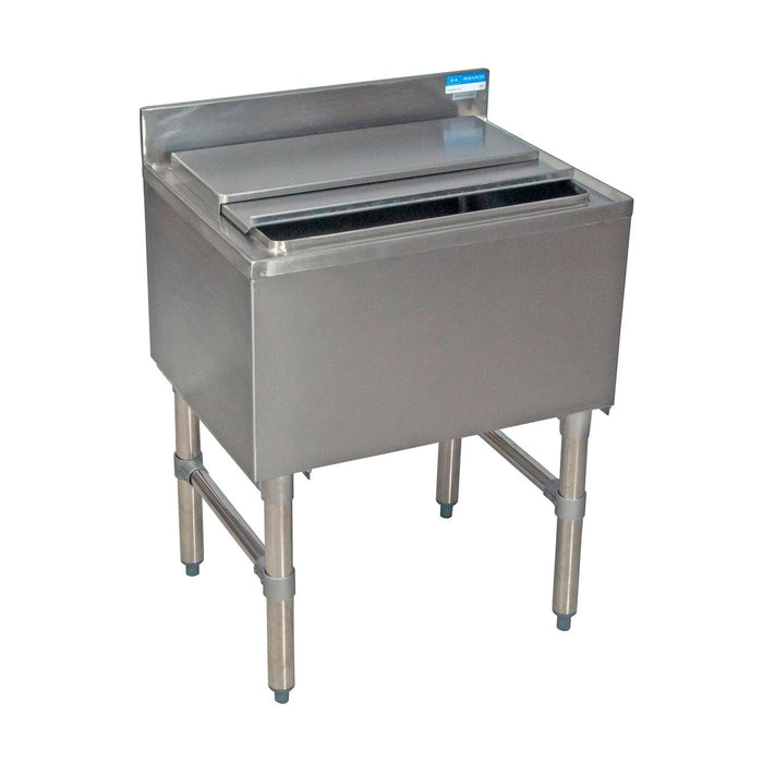 Stainless Steel Underbar Insulated Ice Bin