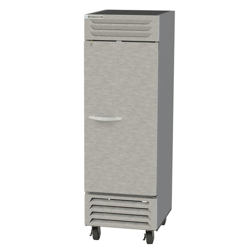 "Beverage Air Vista Series FB23HC-1S Single Solid Door 27"" Wide Stainless Steel Freezer - CONTACT US FOR BEST PRICING"