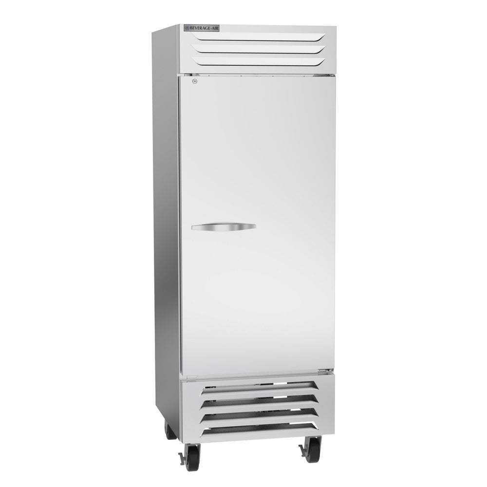 "Beverage Air Vista Series FB27HC-1S Single Solid Door 30"" Wide Stainless Steel Freezer - CONTACT US FOR BEST PRICING"