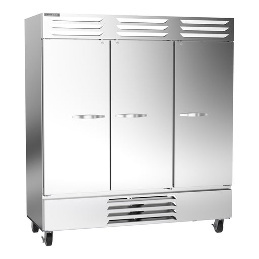 "Beverage Air Vista Series FB72HC-5S Triple Solid Door 75"" Wide Stainless Steel Freezer - CONTACT US FOR BEST PRICING"