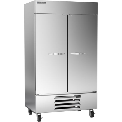 "Beverage Air Horizon Series HBF44HC-1 Double Solid Door 47"" Wide Stainless Steel Freezer - CONTACT US FOR BEST PRICING"