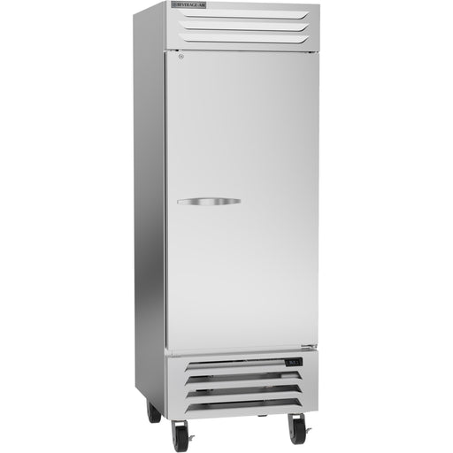 "Beverage Air Vista Series RB27HC-1S Single Solid Door 30"" Wide Stainless Steel Refrigerator - CONTACT US FOR BEST PRICING"