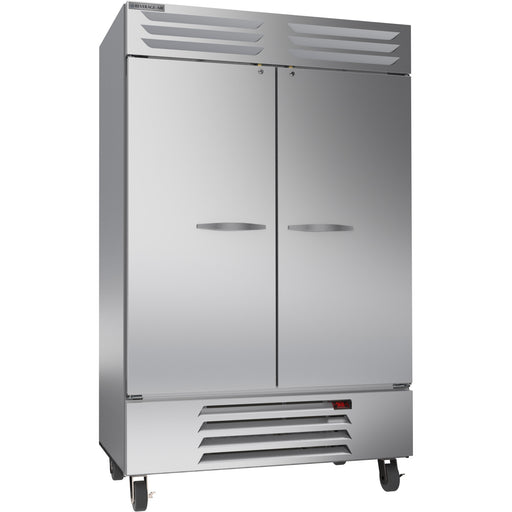 "Beverage Air Vista Series RB49HC-1S Double Solid Door 52"" Wide Stainless Steel Refrigerator - CONTACT US FOR BEST PRICING"
