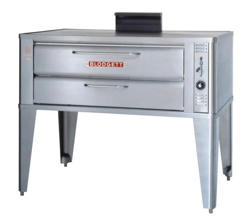 "Blodgett 911/911P Natural Gas 33"" Deck Roasting/Pizza Oven - Single & Double Deck"