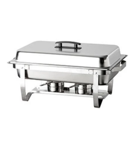 Omega AT751L63-1 Economy Full Size Collapsible Stainless Steel Chafing Dish