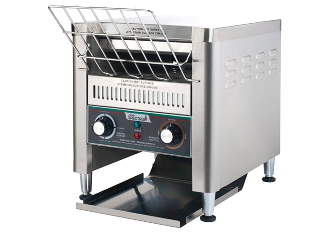 Winco ECT-500 Spectrum Electric Conveyor Toaster - 500 Slices Per Hour, 240V