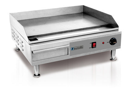 "Eurodib SFE04900 Electric 24"" Griddle - 220V"