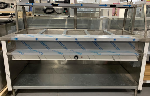 Omega Stainless Steel Steam Table 220/240V (OMST)
