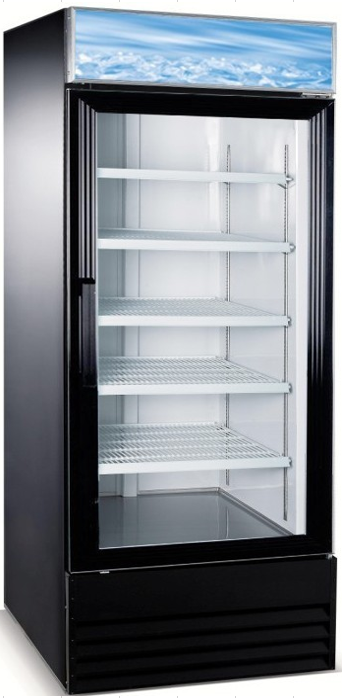 "Canco MF-648 Single Door 31"" Wide Display Freezer"