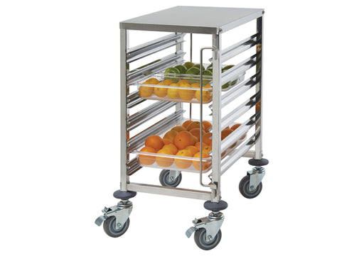 Winco SRK-12 Stainless Steel 12-Tier Steam Table Pan/Food Pan Rack