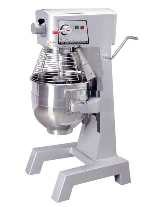 Canco HLM-30B Commercial Planetary Stand Mixer with Attachment Hub - 30 Qt Capacity, 110V-Single Phase