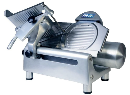 "Pro-Cut KMS-12 Manual Aluminum Meat Slicer - 12"" Blade, 1/3 HP, Gear Drive"