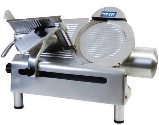 "Pro-Cut KMS-13 Manual Aluminum Meat Slicer - 13"" Blade, 1/3 HP, Gear Drive"
