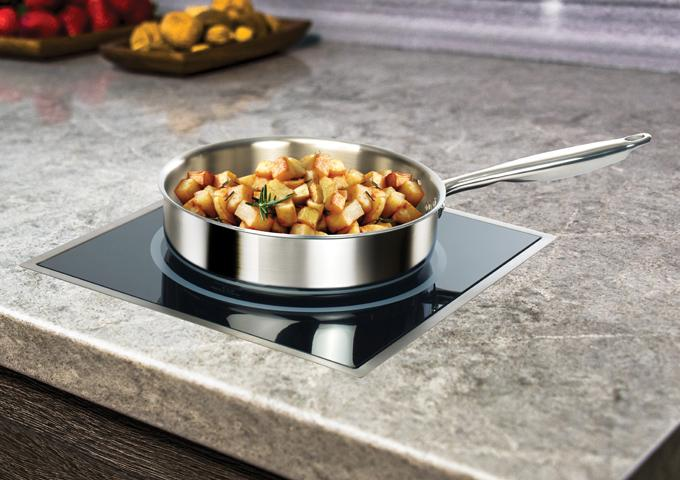 Winco EIDS-TR Stainless Steel Frame for EIDS Series Drop-In Induction Cookers