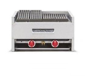 "American Range AECB-48 Natural Gas/Propane 48"" Char Rock Charbroiler - Omni Food Equipment"