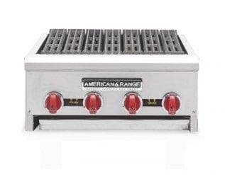 "American Range AERB-24 Natural Gas/Propane 24"" Radiant Charbroiler - Omni Food Equipment"
