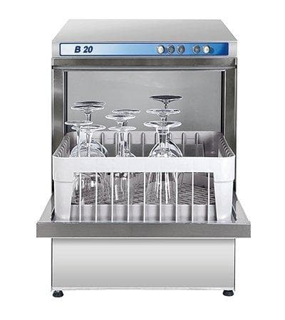 ATA B20 High-Temp Under Counter Front Loading Glass Washer - Omni Food Equipment