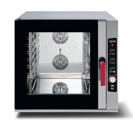 Axis AX-CL06D Combi Oven - Digital Controls, Fits 6 Full Size Sheet Pans - Omni Food Equipment