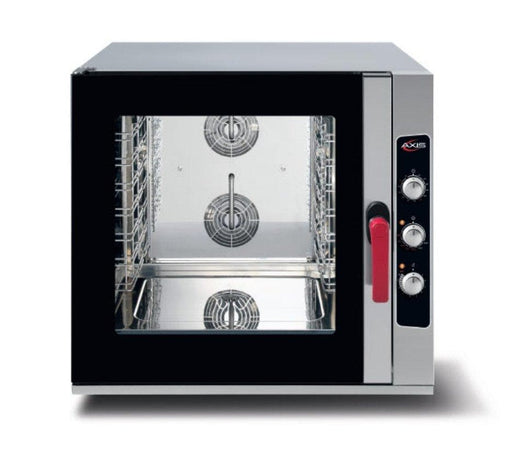 Axis AX-CL06M Combi Oven - Manual Dial Controls, Fits 6 Full Size Sheet Pans - Omni Food Equipment