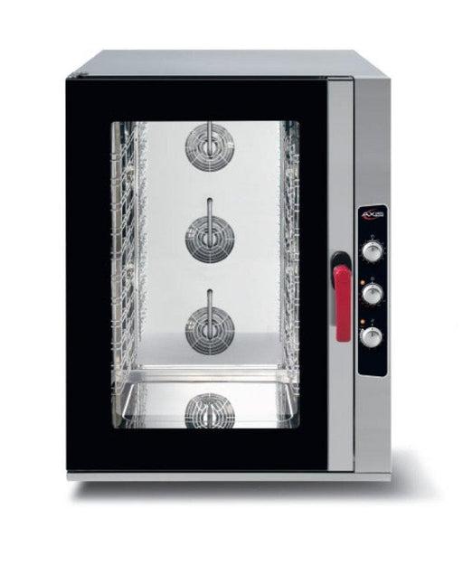 Axis AX-CL10M Combi Oven - Manual Dial Controls, Fits 10 Full Size Sheet Pans - Omni Food Equipment