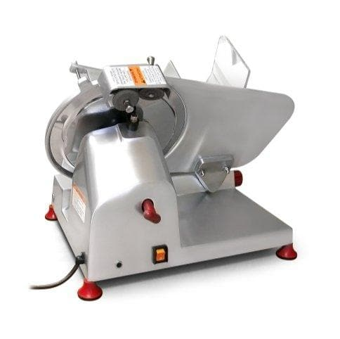 "Axis AX-S9U Ultra Manual Aluminum Meat Slicer - 9"" Blade, 1/4 HP, Belt Drive - Omni Food Equipment"