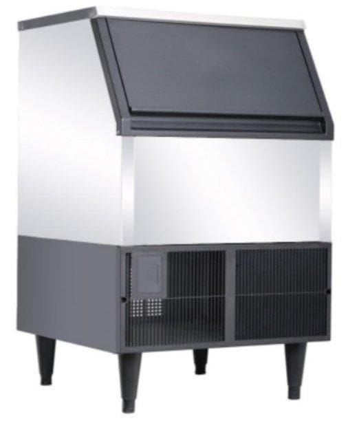 Canco AZ-200 Ice Machine, Cube Shaped Ice - 264LB/24HRS, 88LBS Storage - Omni Food Equipment