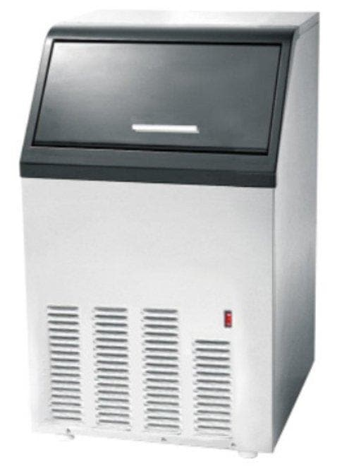 Canco AZ-36A Ice Machine, Cube Shaped Ice - 90LB/24HRS, 24LBS Storage - Omni Food Equipment