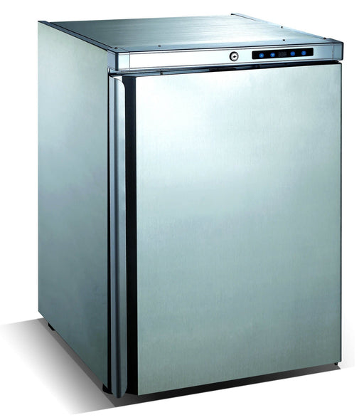 Canco BC-161A Outdoor Undercounter Stainless Steel Refrigerator - Omni Food Equipment