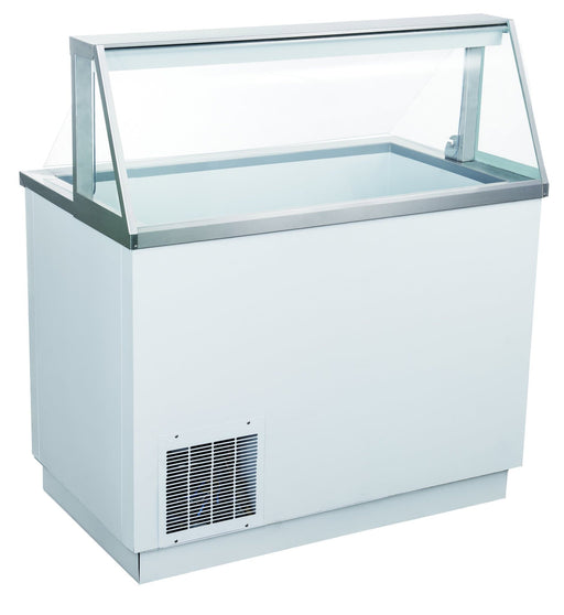 "Canco DPC46-HC 47"" Ice Cream Dipping Freezer - 8 Tub Capacity - Omni Food Equipment"