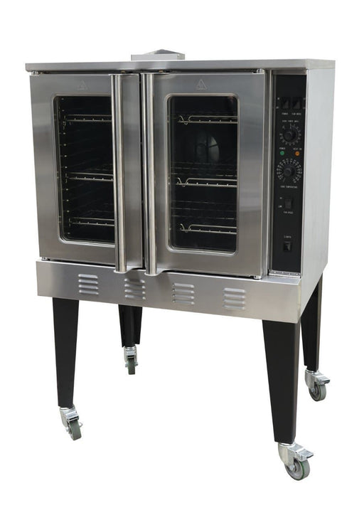 Canco GCO613 Natural Gas/Propane Convection Oven - Fits 5 Full Size Sheet Pans - Omni Food Equipment