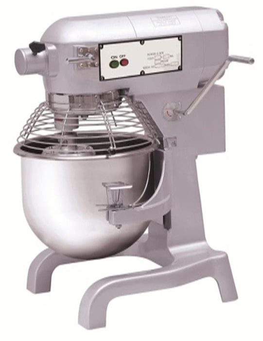 Canco HLM-20B Commercial Planetary Stand Mixer with Attachment Hub - 20 Qt Capacity, 110V-Single Phase - Omni Food Equipment