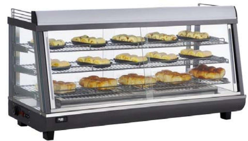 "Canco RTR-186L Deluxe Glass Display 48"" Food Warmer - Omni Food Equipment"