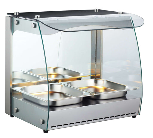 "Canco RTR-1D Open Glass Display 22"" Food Warmer - Omni Food Equipment"