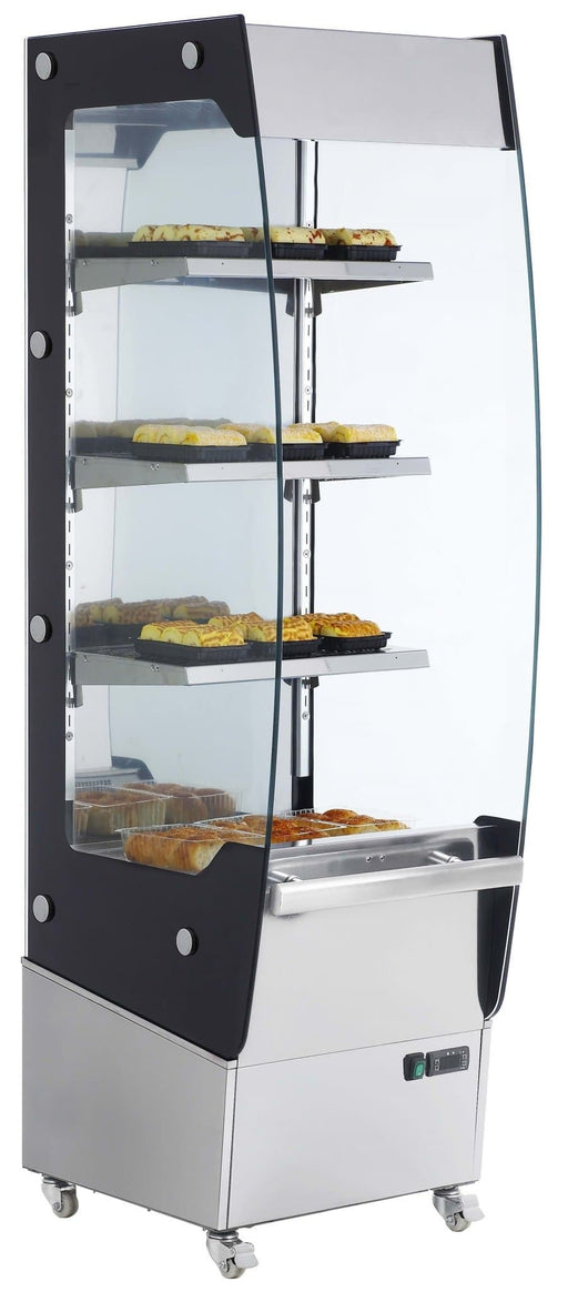 "Canco RTR-220L Floor Model Open Glass Display 24"" Food Warmer - Omni Food Equipment"